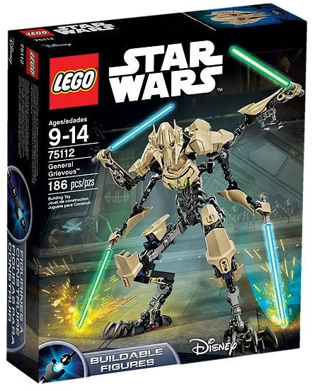 LEGO Star Wars 75112 General Grievous Buildable Figure - Toysnbricks