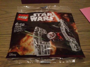 LEGO Star Wars First Order Special Forces TIE Fighter Mini Polybag 30276 - Toysnbricks