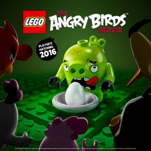 LEGO The Angry Birds Big Piggies Poster Teaser 2016