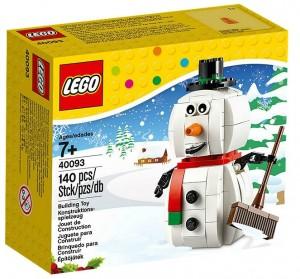 2014 LEGO Snowman Set 40093 - Toysnbricks
