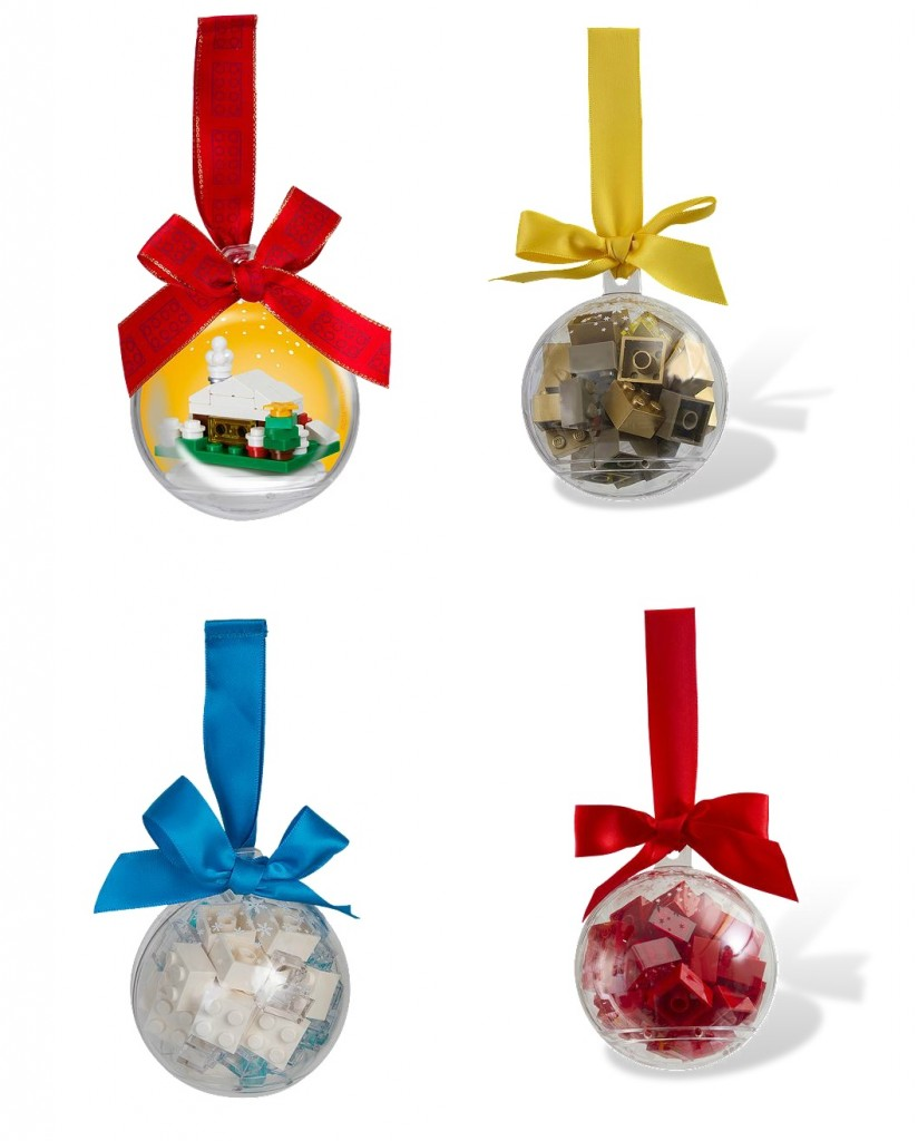 2015 LEGO Christmas Holiday Ornaments 850949 853345 851358 853344 - Toysnbricks