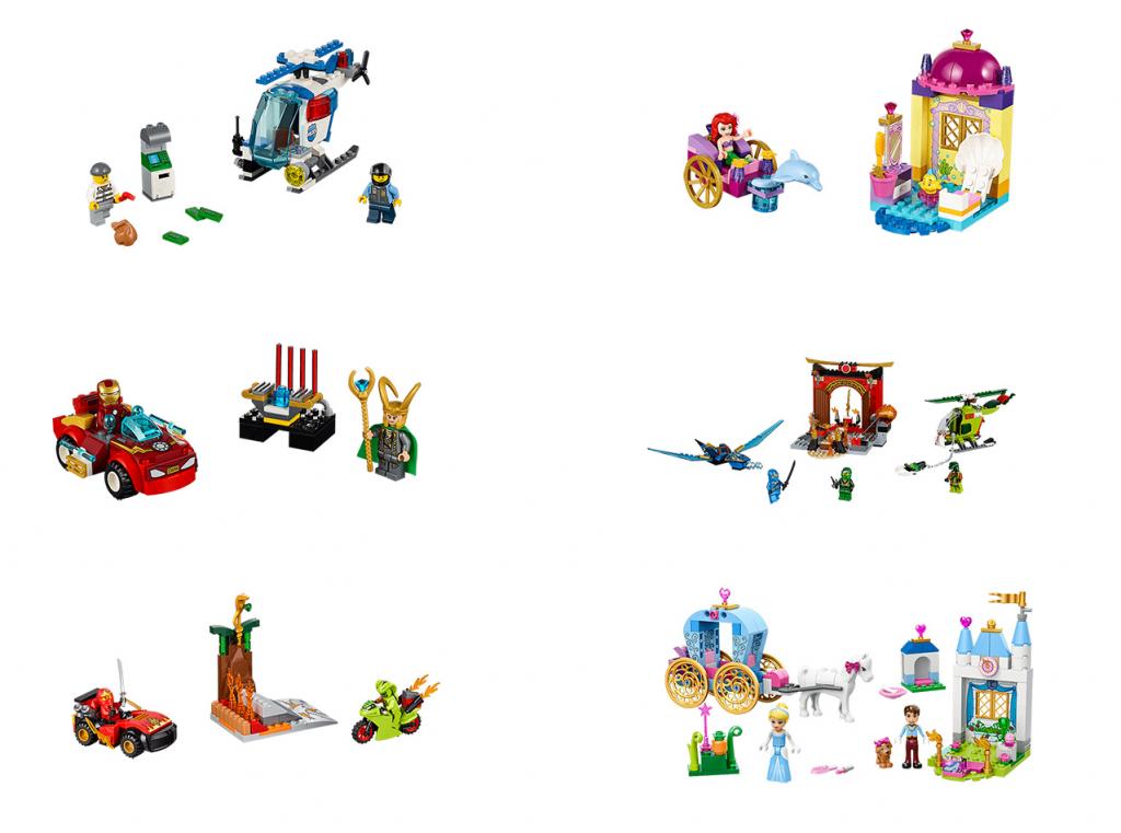 2016 LEGO Juniors Set Pictures (10720 10721 10722 10723 10725 10729)
