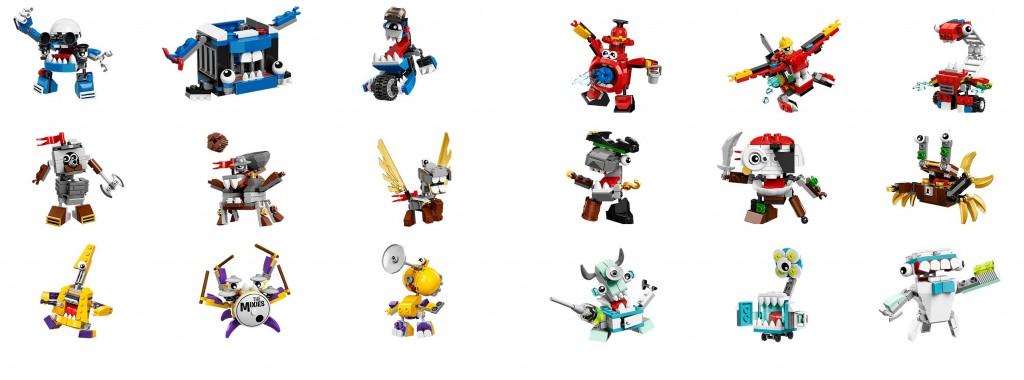 2016 LEGO Mixels Series 6 Set Images (41554 41555 41556 41557 41558 41559 41560 41561 41562)