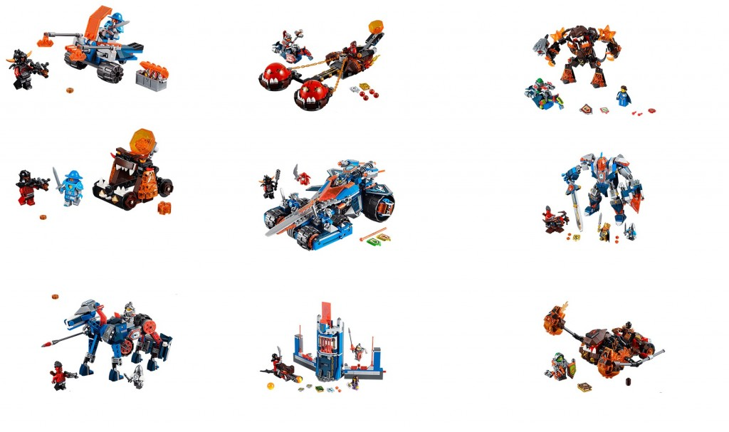 2016 LEGO Nexo Knights Sets Pictures (70324 70325 70327 and more)