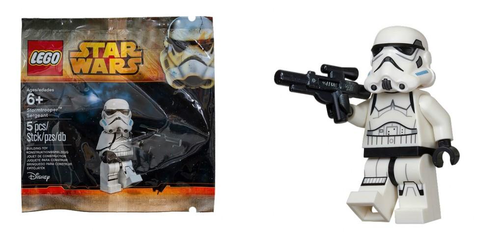 5002938 LEGO Star Wars Stormtrooper Sergeant Minifigure Exclusive - Toysnbricks