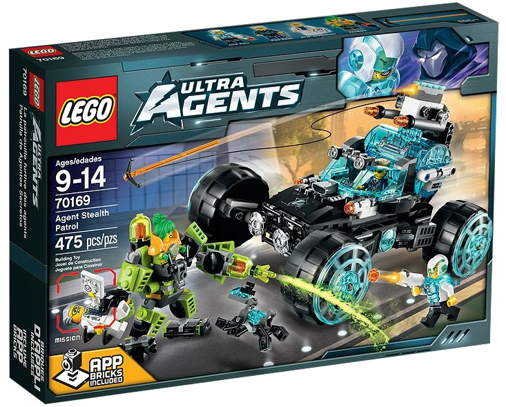 70169 LEGO Ultra Agents Agent Stealth Patrol - Toysnbricks