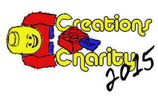 Creations for Charity 2015 LEGO Logo