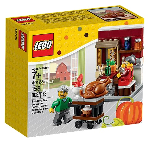 LEGO 40123 Thanksgiving Feast 2015 Seasonal Fall Set - Toysnbricks