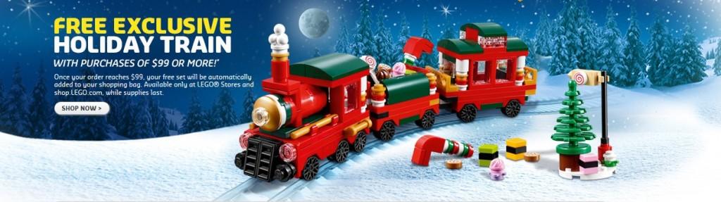 LEGO 40138 Holiday Exclusive Train October 2015 Promotion - Toysnbricks