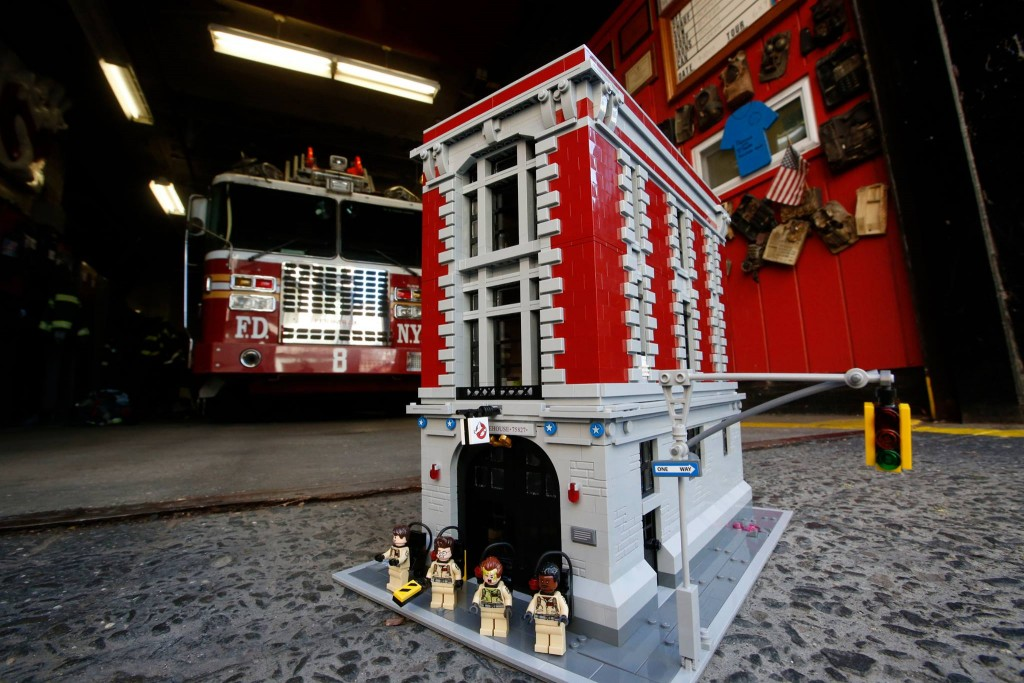LEGO 75827 Ghostbusters Firehouse Headquarters Ideas