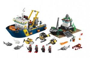 LEGO City Deep Sea Exploration Vessel  60095 - Toysnbricks