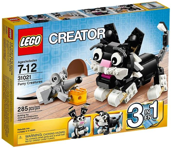 LEGO Creator Furry Creatures 31021 - Toysnbricks