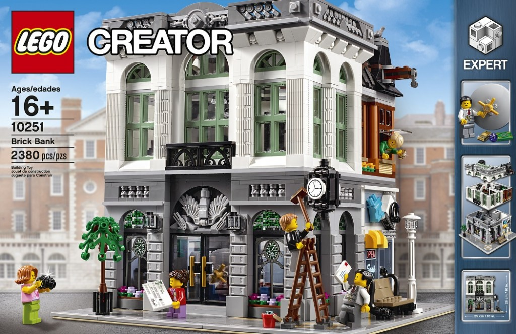 LEGO Expert Creator 10251 Brick Bank Modular Building 2016 (High Resolution)