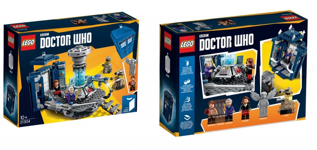 LEGO Ideas 21304 Doctor Who Set Box Image Official