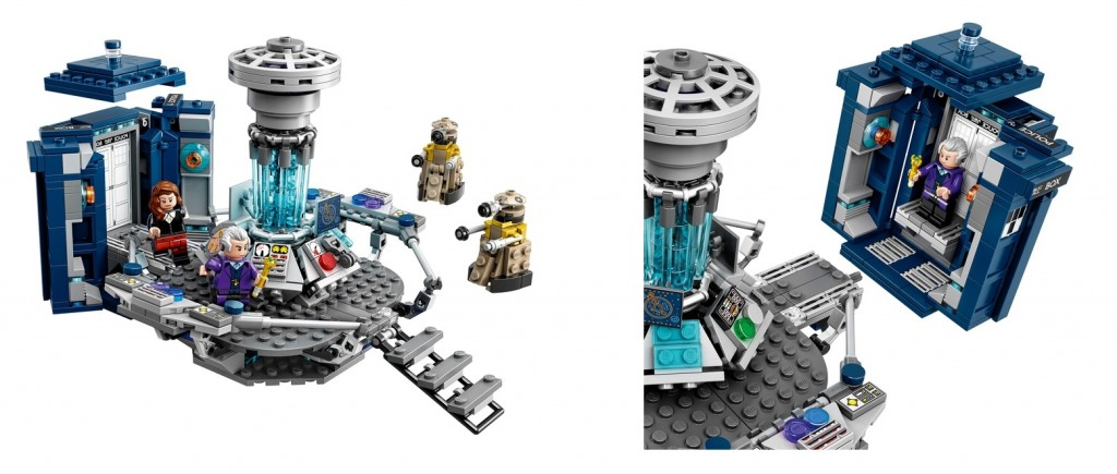 LEGO Ideas 21304 Doctor Who Set Product Functions