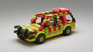LEGO Ideas Creation Jurassic Park Explorer Senteosan 2015 Potential Set