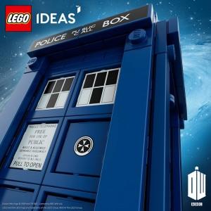 LEGO Ideas Doctor Who Official Set Teaser Image 2015