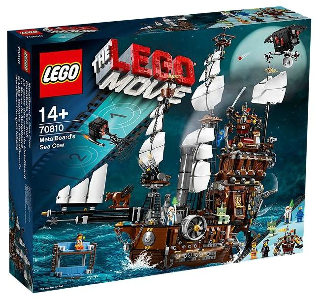 LEGO Movie 70810 MetalBeard's Sea Cow - Toysnbricks