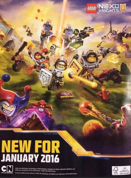 LEGO Nexo Knights 2016 Theme January