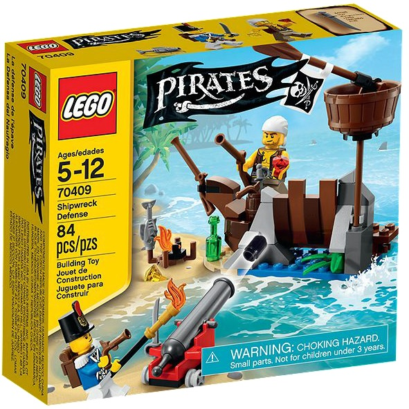 LEGO Pirates 70409 Shipwreack Defense - Toysnbricks