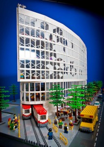 [MOC] Calgary Central Library LEGO Creation