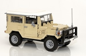 Toyota Landcruiser 40 Series by Matthew Inman - Potential LEGO Ideas Creation Product