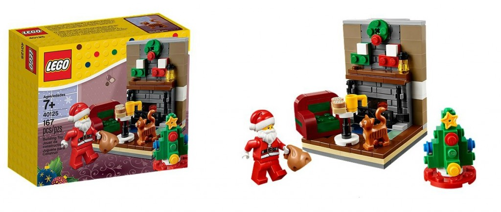 2015 LEGO Santa's Visit 40125 Seasonal Set - Toysnbricks