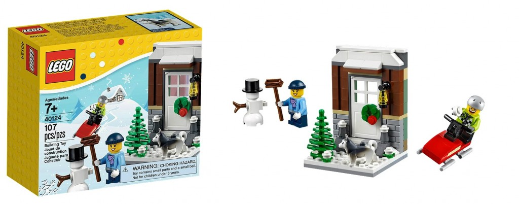 2015 LEGO Winter Fun 40124 Seasonal Set - Toysnbricks
