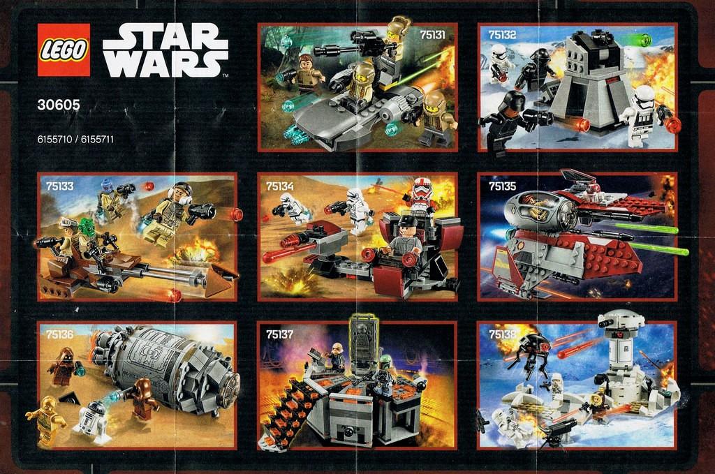 2016 LEGO Star Wars Set Pictures 75131 75132 75133 75134 75135 75136 75137 75138