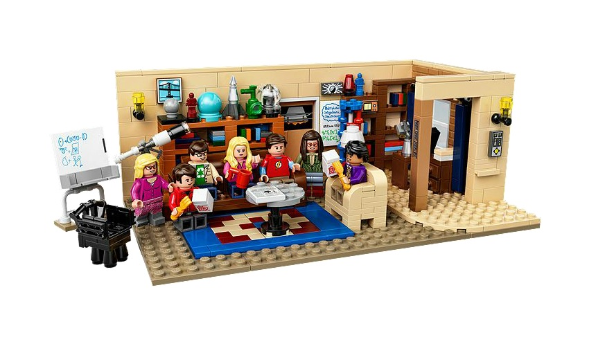 21302 LEGO Ideas The Big Bang Theory - Toysnbricks