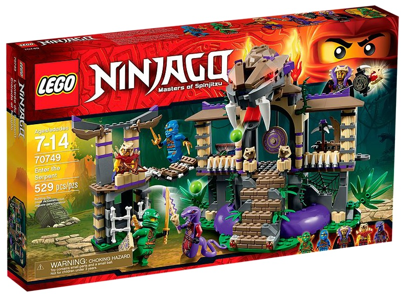 70749 LEGO Ninjago Enter the Serpent - Toysnbricks