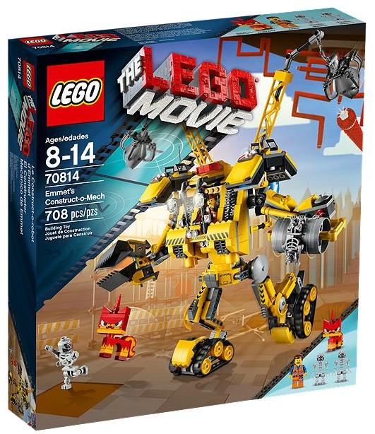 70814 LEGO Movie Emmet's Construct-o-Mech - Toysnbricks