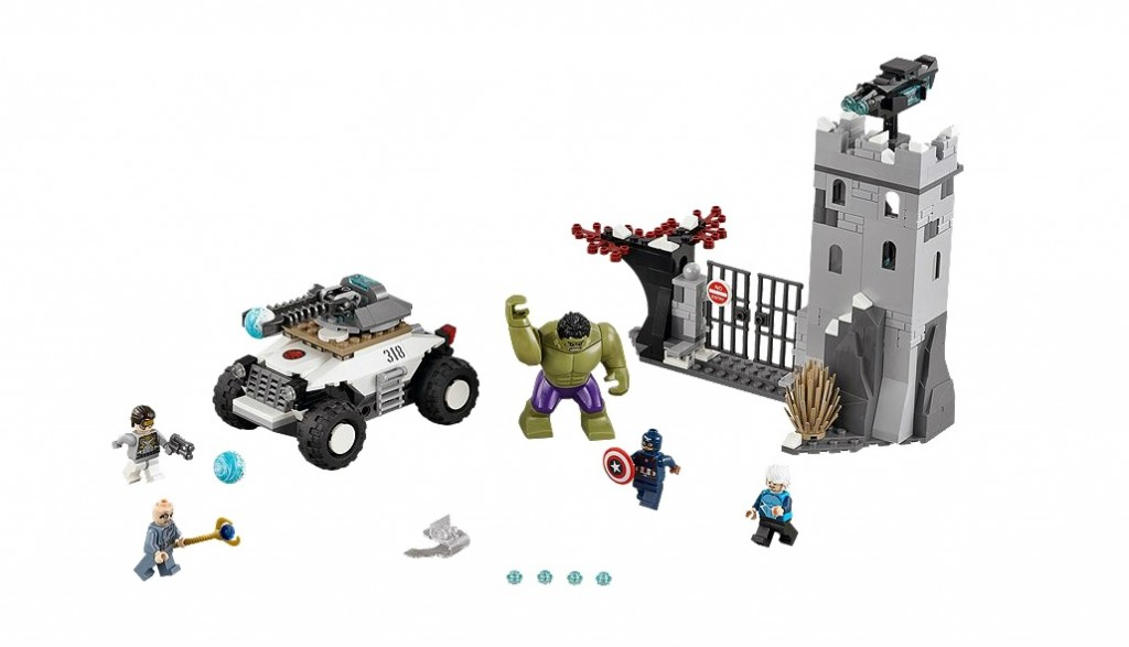 76041 LEGO Super Heroes Avengers The Hydra Fortress Smash - Toysnbricks