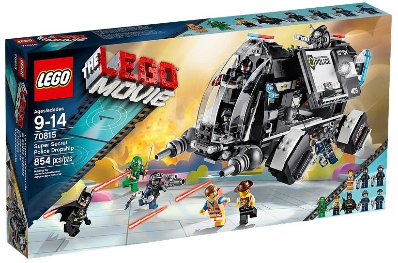 LEGO 70815 Movie Super Secret Police Dropship - Toysnbricks