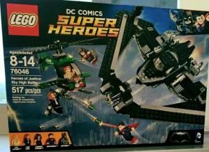 LEGO 76046 DC Comics Super Heroes Heroes of Justice Sky High Battle