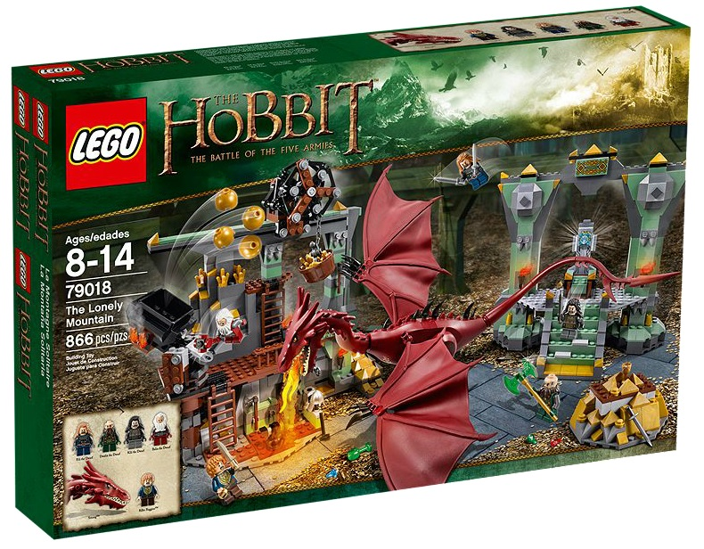 LEGO 79018 Hobbit The Lonely Mountain - Toysnbricks