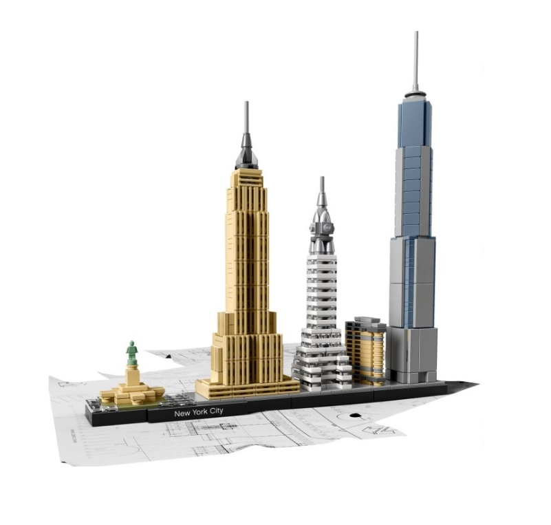 Toys n bricks lego news site sales deals reviews for Architecture new york