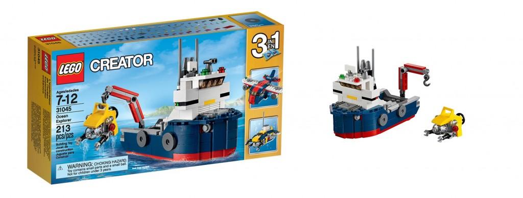 LEGO Creator 31045 Ocean Explorer - Toysnbricks