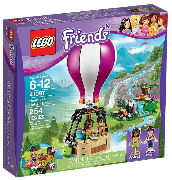LEGO Friends Heartlake Hot Air Balloon 41097 - Toysnbricks