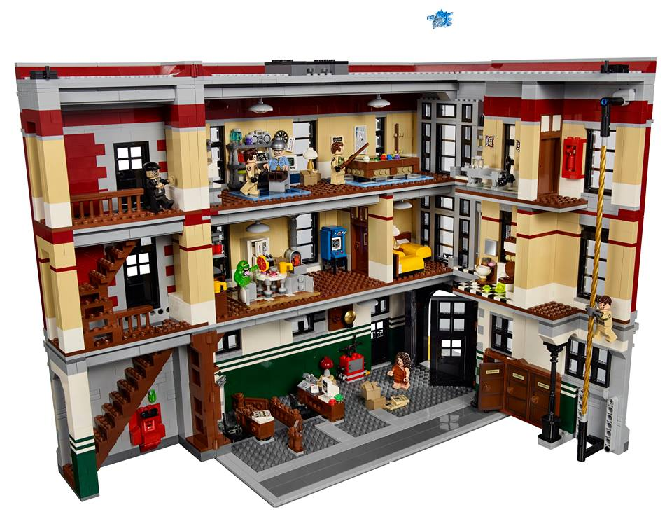 LEGO Ghostbusters Firehouse Headquarters 75827 Ideas Set Interior