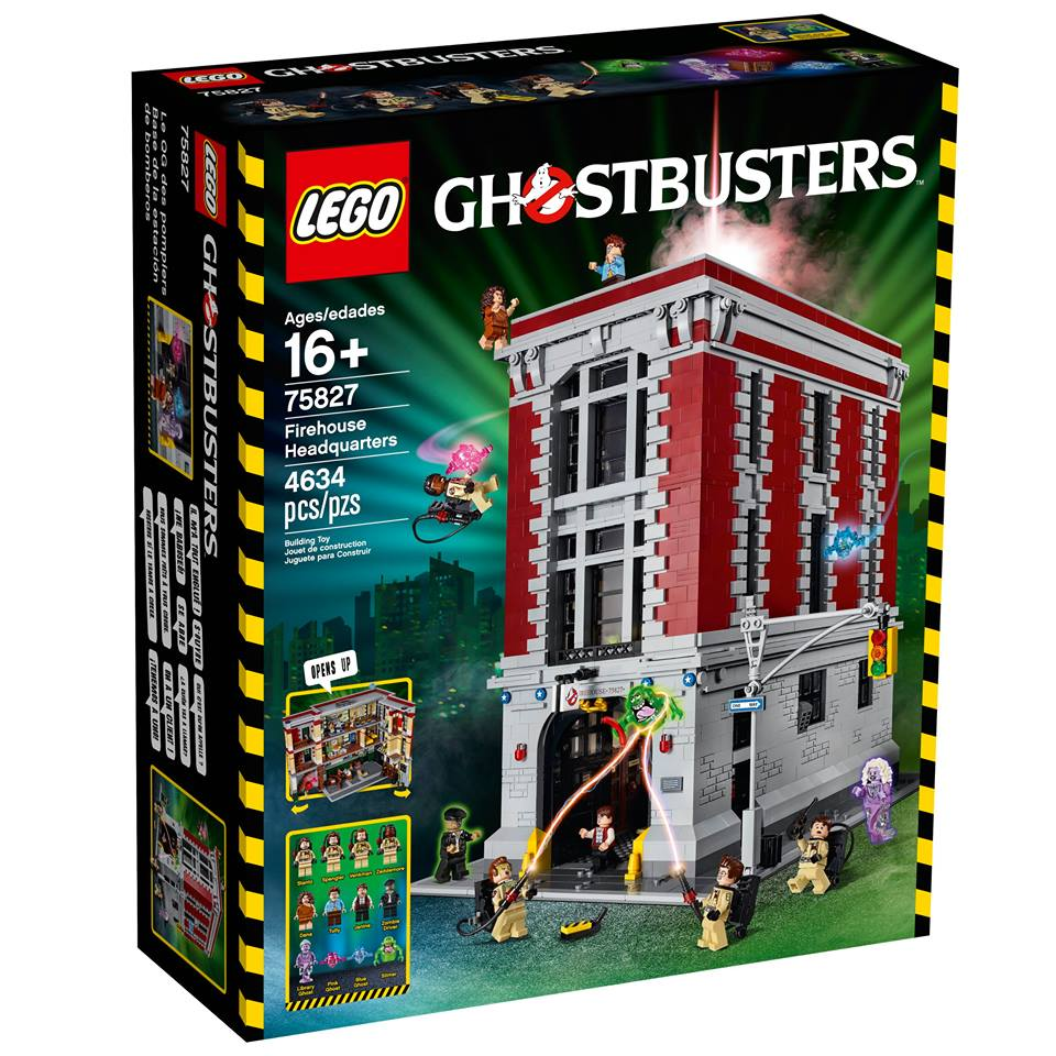 LEGO Ghostbusters Firehouse Headquarters 75827 Ideas Set