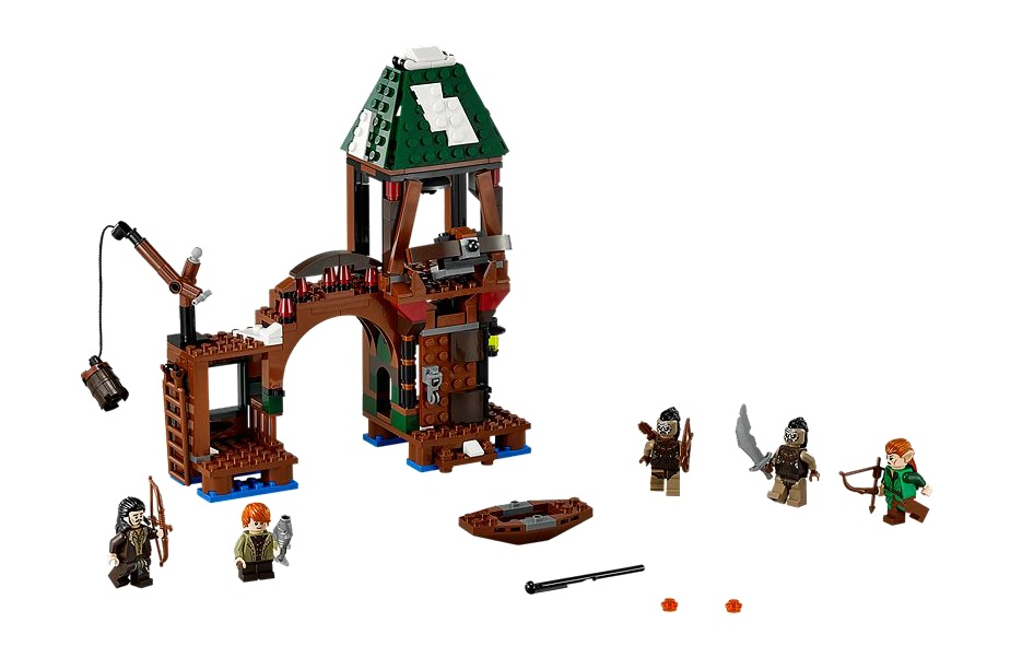 LEGO Hobbit Attack on Lake Town 79016 - Toysnbricks