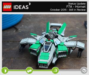 LEGO Ideas October 2015 F7A Horneyt Creation Star Citizen