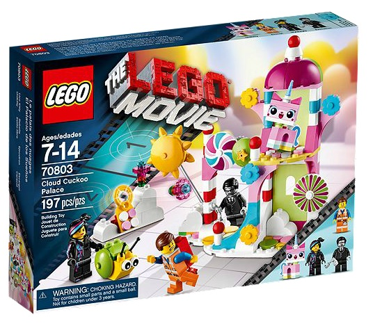 LEGO Movie Cloud Cuckoo Palace 70803 - Toysnbricks