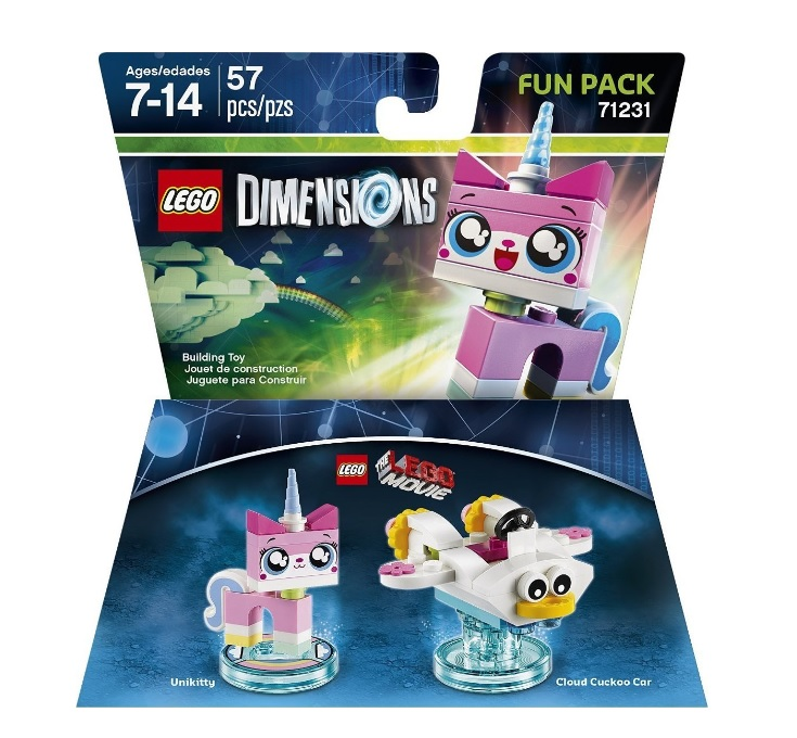 LEGO Movie Dimensions 71231 Unikitty Fun Pack - Toysnbricks