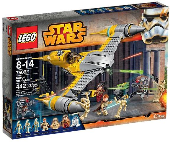 LEGO Star Wars 75092 Naboo Starfighter - Toysnbricks