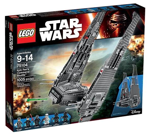 LEGO Star Wars 75104 Kylo Ren's Command Shuttle - Toysnbricks