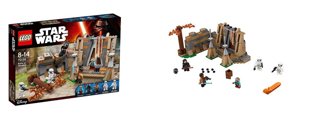 LEGO Star Wars 75139 The Force Awakens Battle on Takodana - Toysnbricks