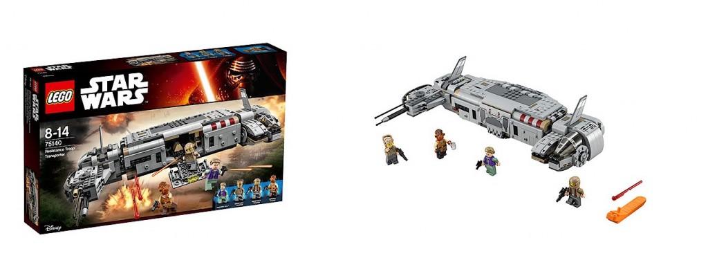 LEGO Star Wars 75140 he Force Awakens Resistance Troop Transporter - Toysnbricks
