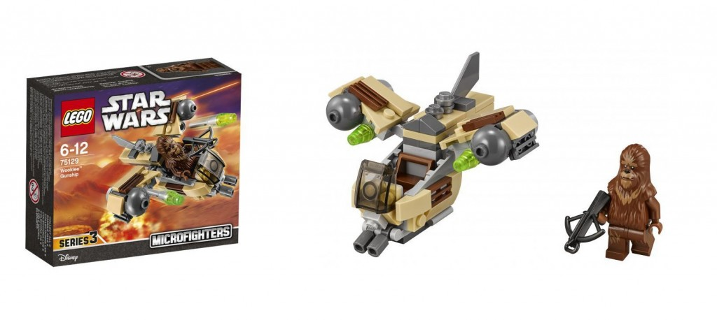 LEGO Star Wars Microfighters Series 3 75129 Wookie Gunship - Toysnbricks